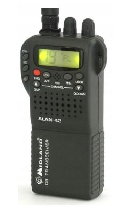 Alan 42 DS Multi Am/Fm Radio Cb Ręczne