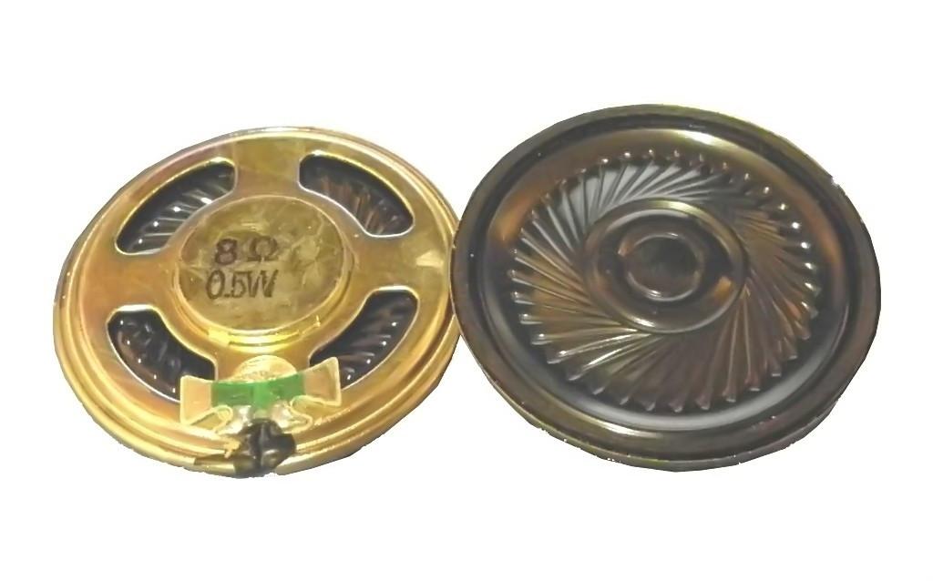 Głośnik YD36 0.5W 8 Ohm h=5mm membrana plastikowa