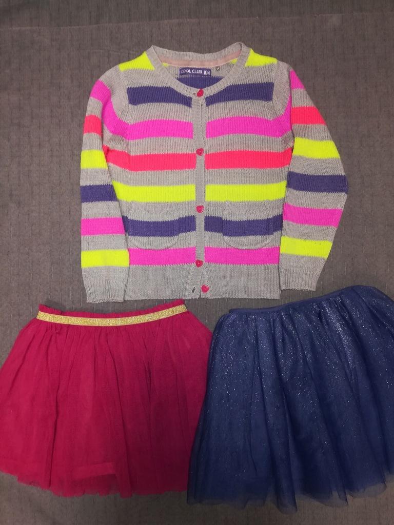 Paka -sweterek Cool Club, spodnie H&M r. 104