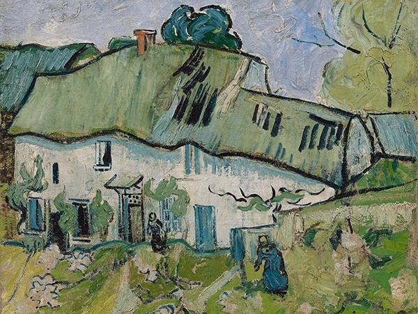 Reprodukcja Farmhouse - Gogh 80x60