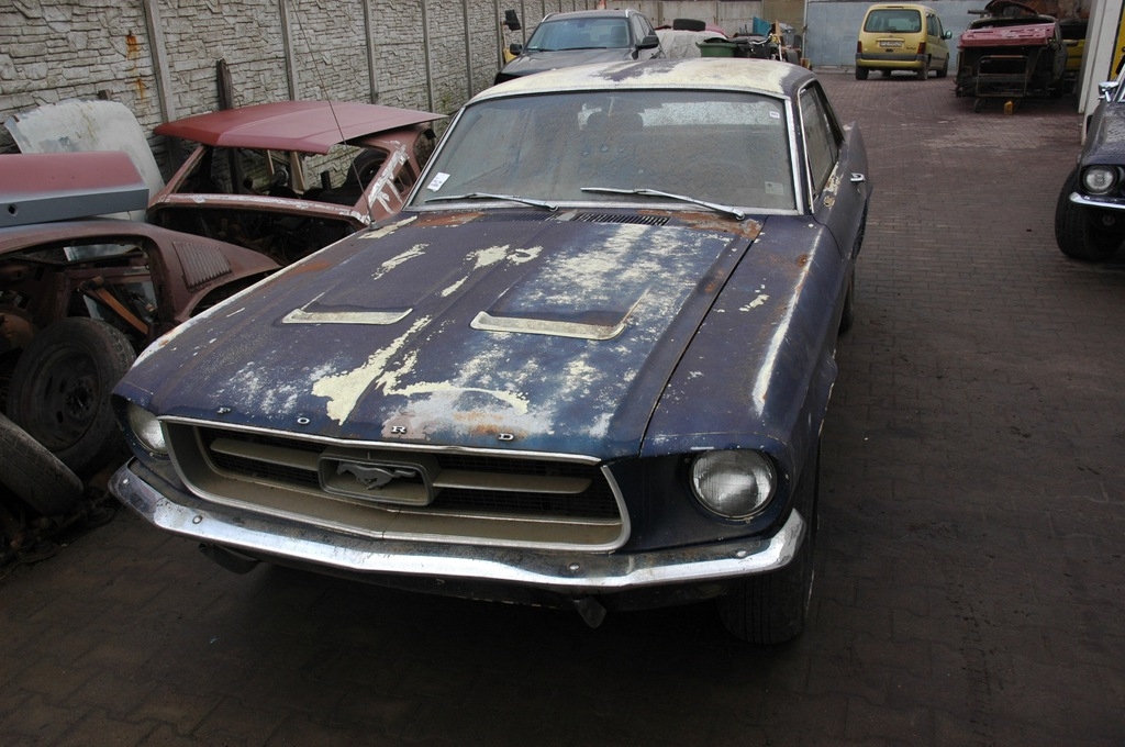 Ford Mustang 1967 Cena