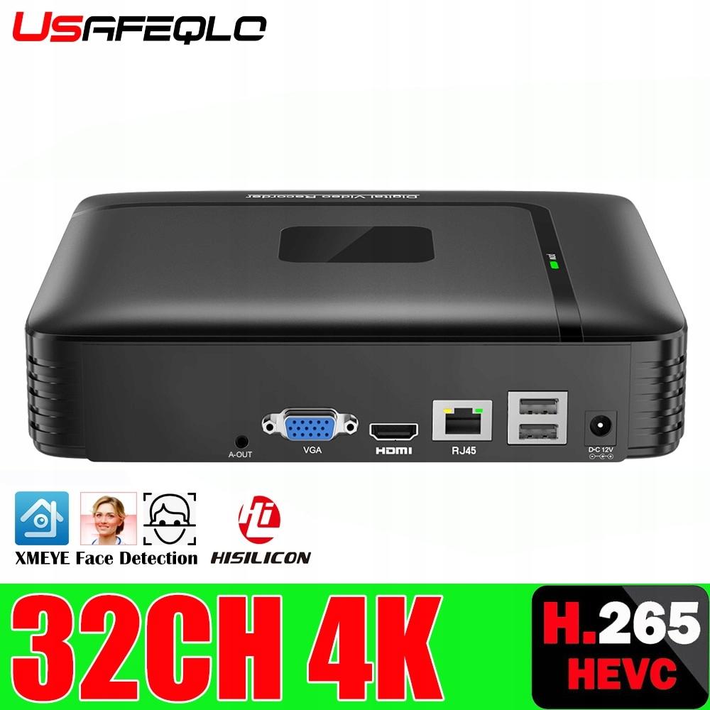 Nowy H.265 maks. 4K wyjście CCTV NVR 16CH 5MP/ 9CH