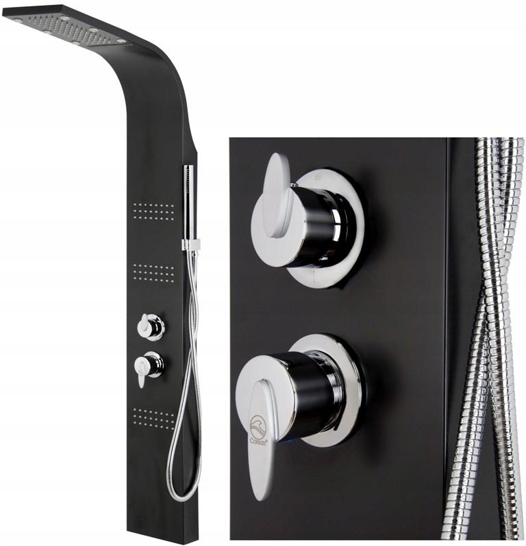 Panel Prysznicowy CORSAN A-013S ROYAL Czarny