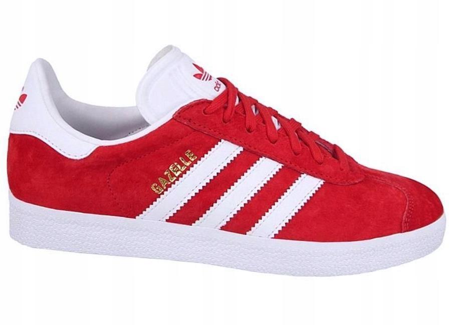 buty adidas męskie gazelle s76228 czerwone