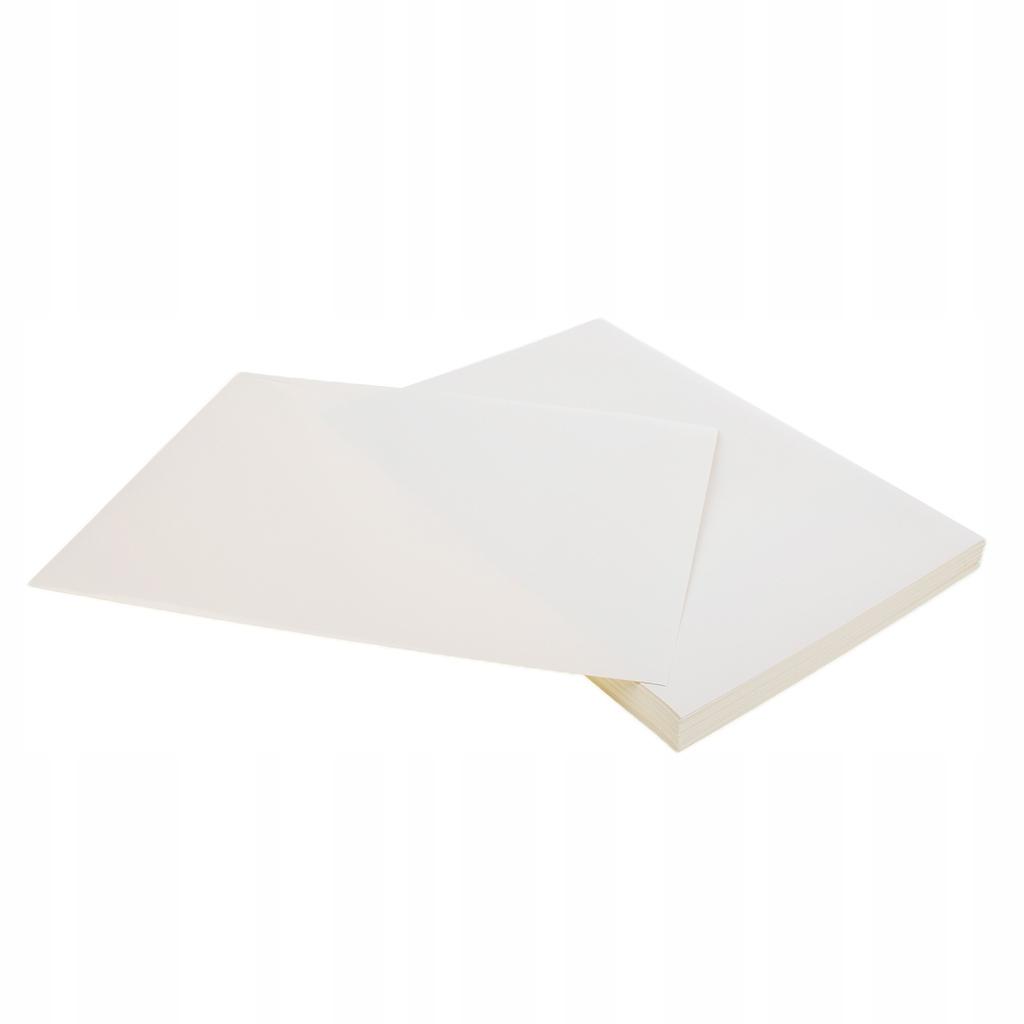 100 arkuszy samoprzylepnych papierów do drukarek