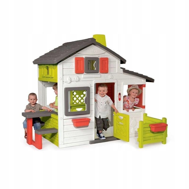 Smoby Domek Ogrodowy dla dzieci Friends House Flor