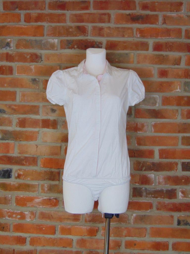 *Reserved* biała koszula body 38 (310)