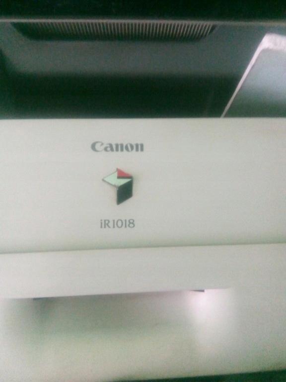canon 1018