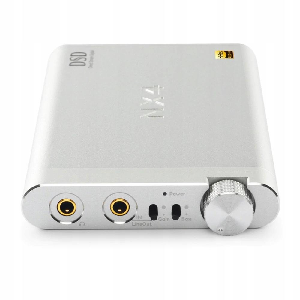 Topping Audio NX4DSD Wzmacniacz Słuchawkowy Silver