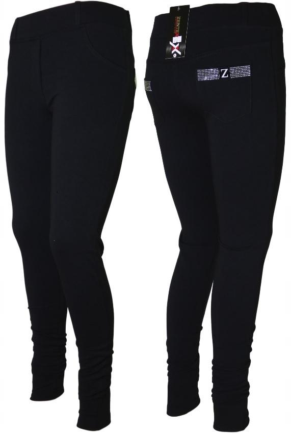 Rewelacyjne spodnie ocieplane damskie rurki 3XL