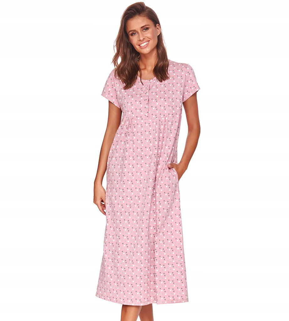 Koszula nocna Doctor Nap TM.4119 PAPAYA XXL Różowy