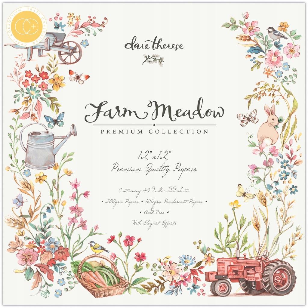 Papiery 30,5x30,5cm Craft Consortium - Farm Meadow