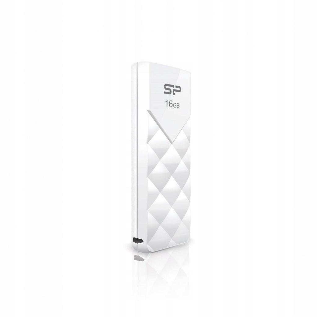 SILICON POWER ULTIMA U03 16GB USB 2.0 LUX/WHITE