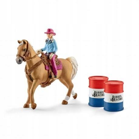 Kowbojka w wyścigu przez beczki +ZAKŁADKA
