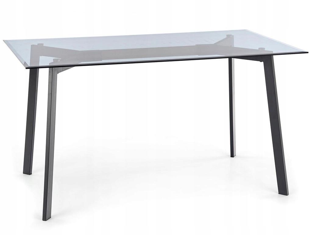 Stół TRAX 140 cm czarny HALMAR
