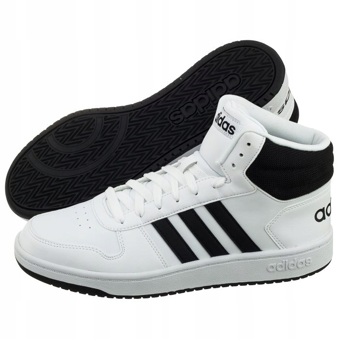 Buty m?skie adidas Hoops Mid BB7208 44