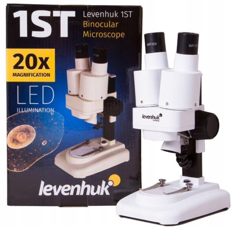 Mikroskop optyczny Levenhuk 1ST 20 x