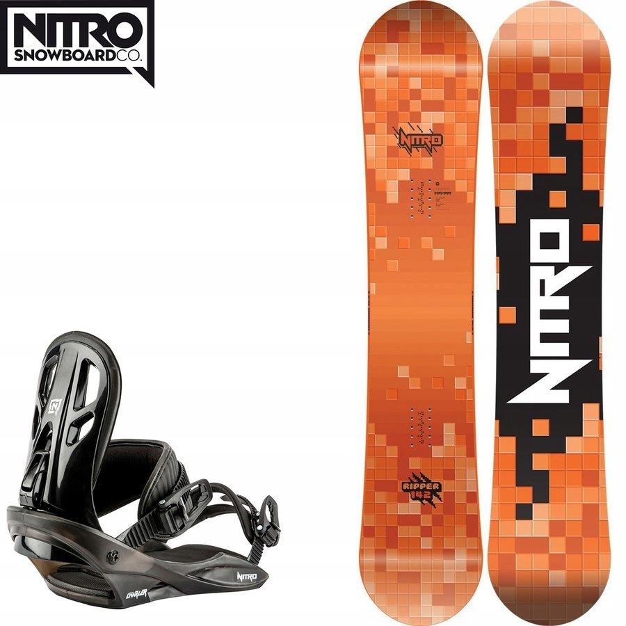 Snowboard Ripper + wiązania Charger (EU38.5-43.5)
