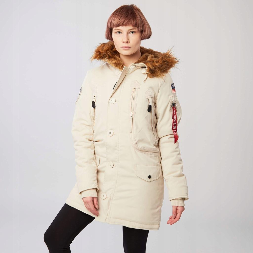 Alpha Industries Polar Jacket Wmn OFF WHITE S