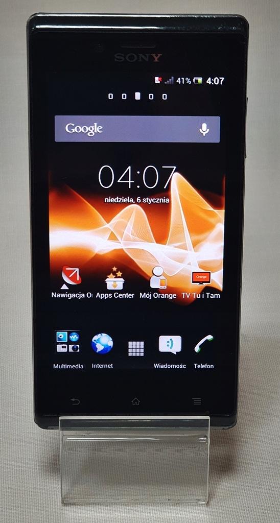 Sony Xperia J ST-26i 512MB/4GB Okazja E