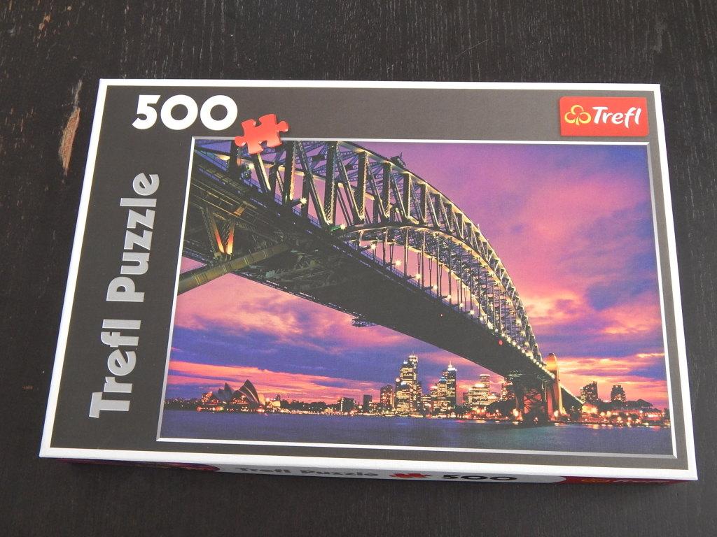 puzzle trefl, 500 el.