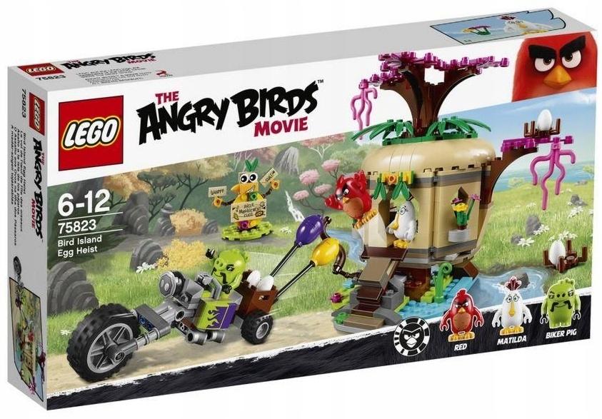 LEGO ANGRY BIRDS 75823 KRADZIEŻ JAJ NA WYSPIE NOWY