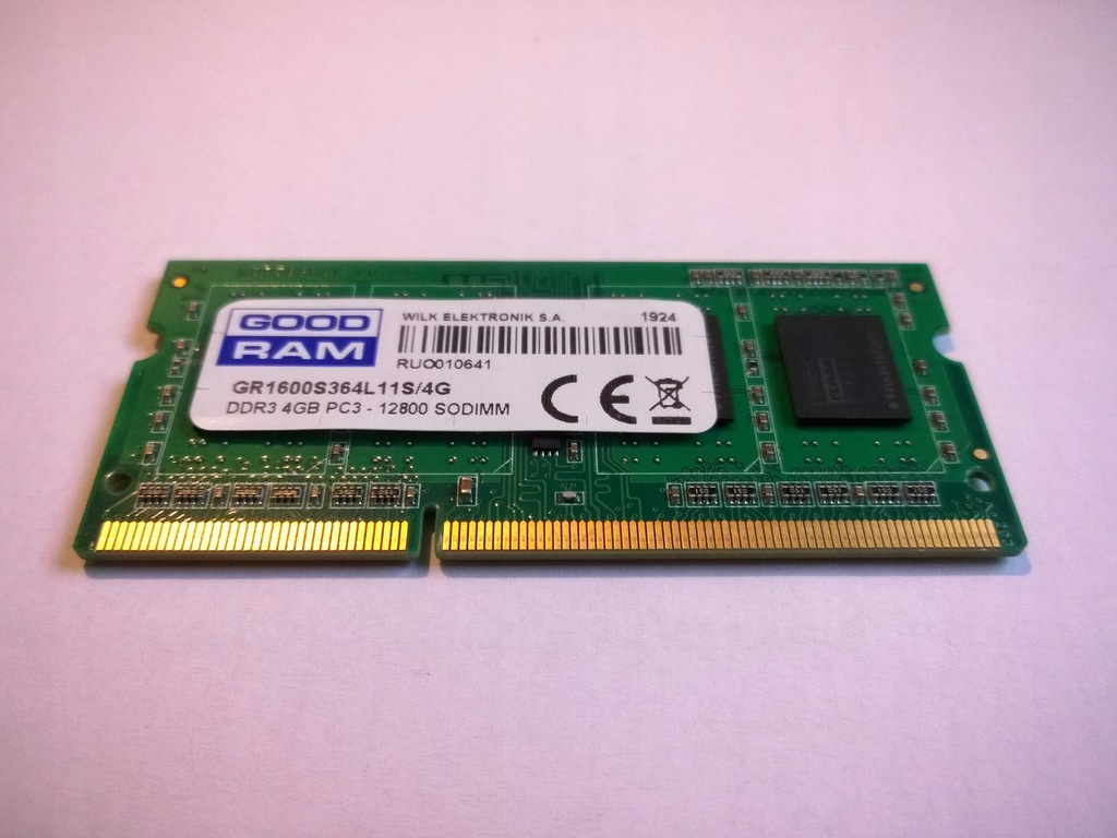 DDR3 4GB 1600Mhz CL11 SODIMM SR