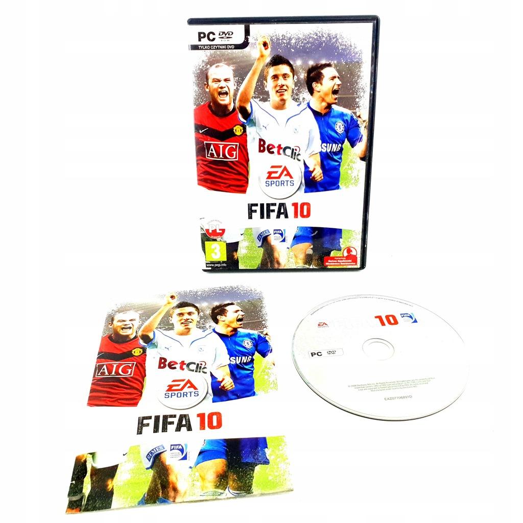 FIFA 10 / 2010 PC POLSKIE WYDANIE PL