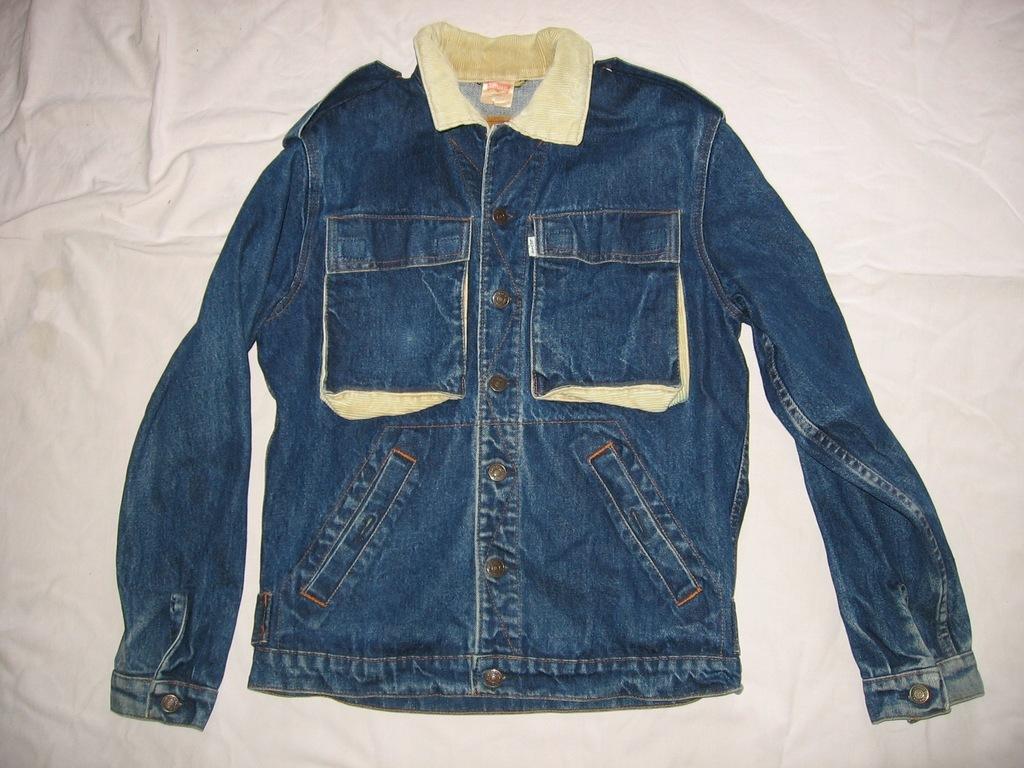 kurtka katana jeansowa dżinsowa Levi Strauss Levis