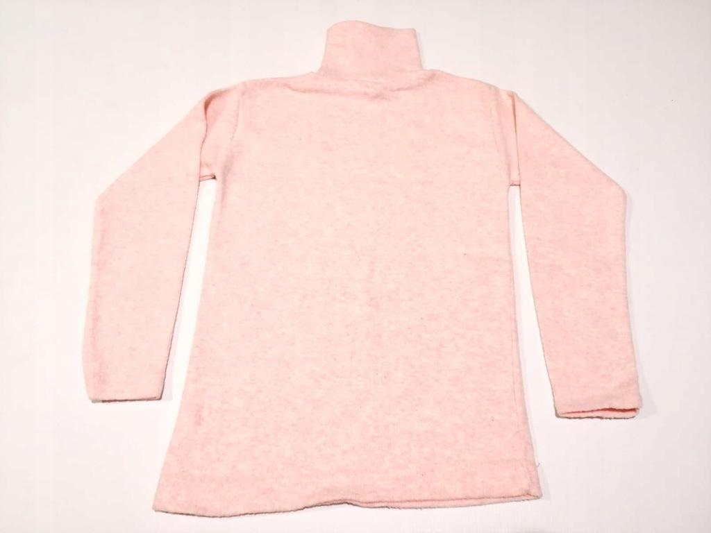 Bluzka dziewczęca Golf Różowy Ciepły 116