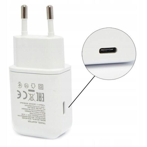 Huawei Nova 3 | Oryg Ładowarka LG 3A USB C kabel