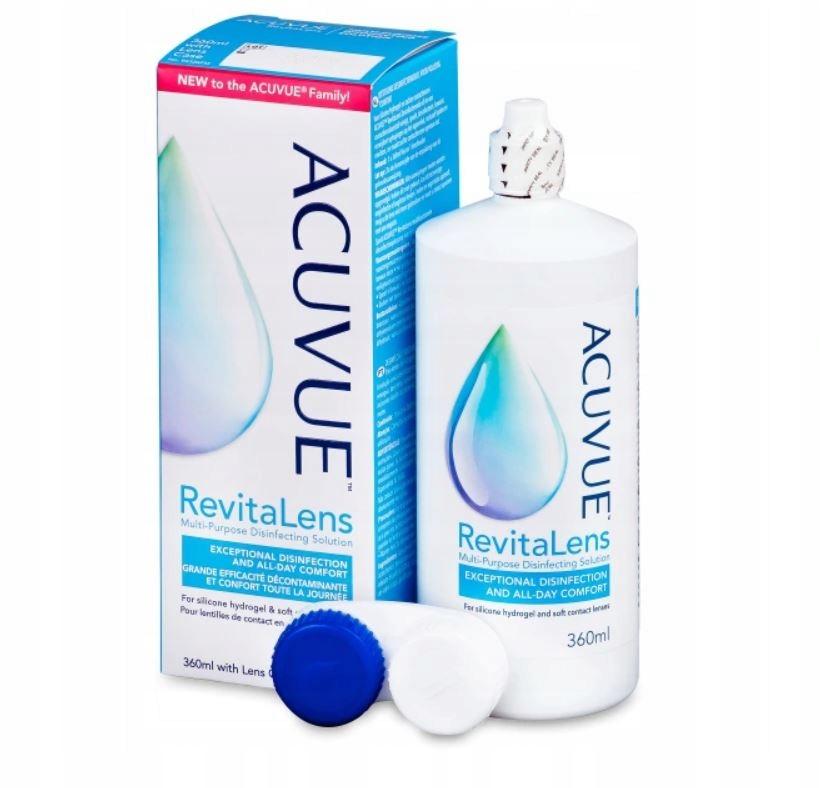 Płyn do soczewek Acuvue RevitaLens 360 ml