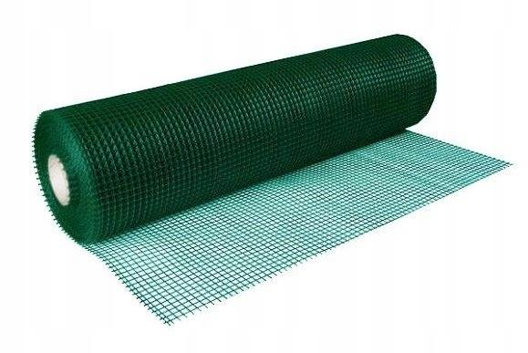 Siatka Rabatowa Ogrodzeniowa 0,8x25m Zielona (30x3