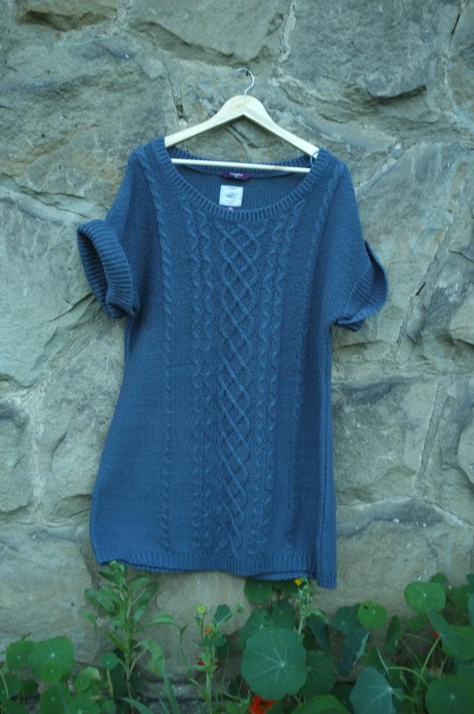sweter tunika New Look Inspire Knitwear 5XL długi