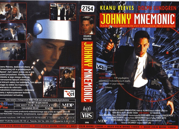 JOHHNNY MNEMONIC - KEANU REEVES