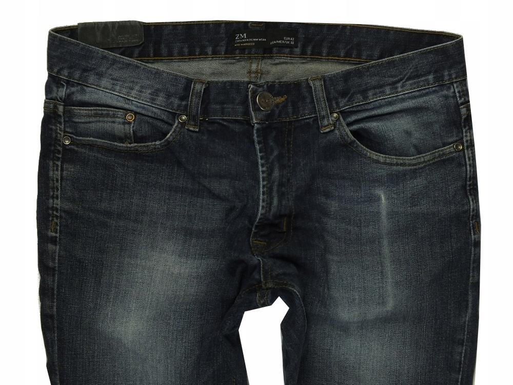. ZARA MAN * 32 * męskie spodnie *009