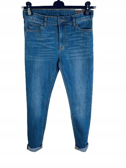 Jeansowe spodnie rurki Asos 29/30