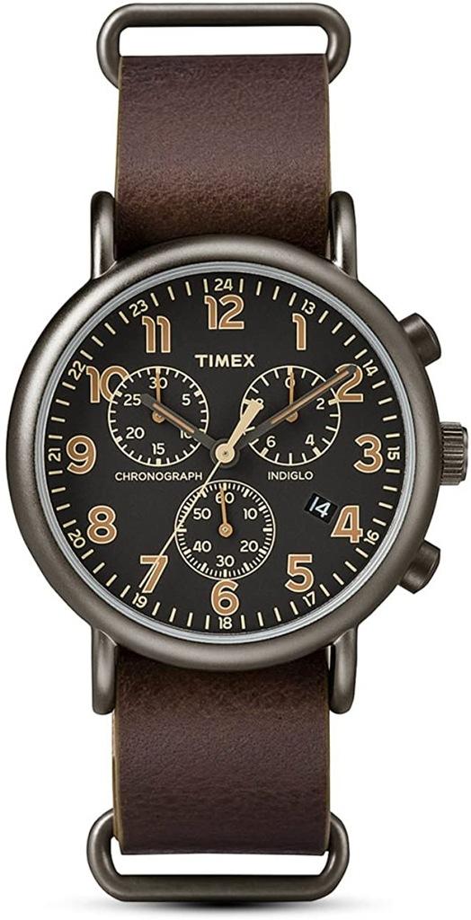 Zegarek TIMEX TW2P85400 męski INDIGLO chronograf