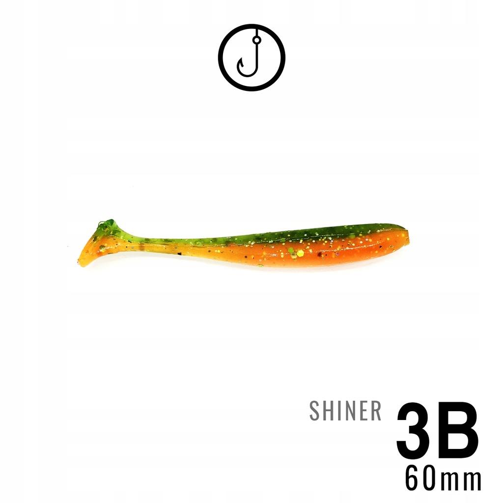 RIPPER SHINER HM 60mm | OKONIOWY HIT | 3szt | 3B