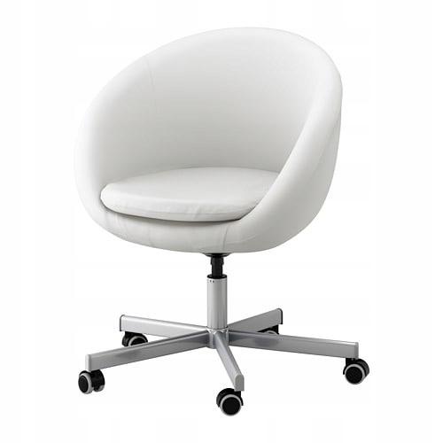 IKEA SKRUVSTA krzesło fotel obrotowy Vissle SZARY 349 zł