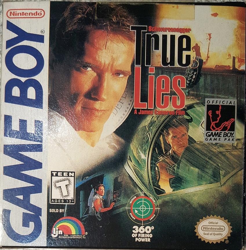 Pudełko gry True Lies GameBoy