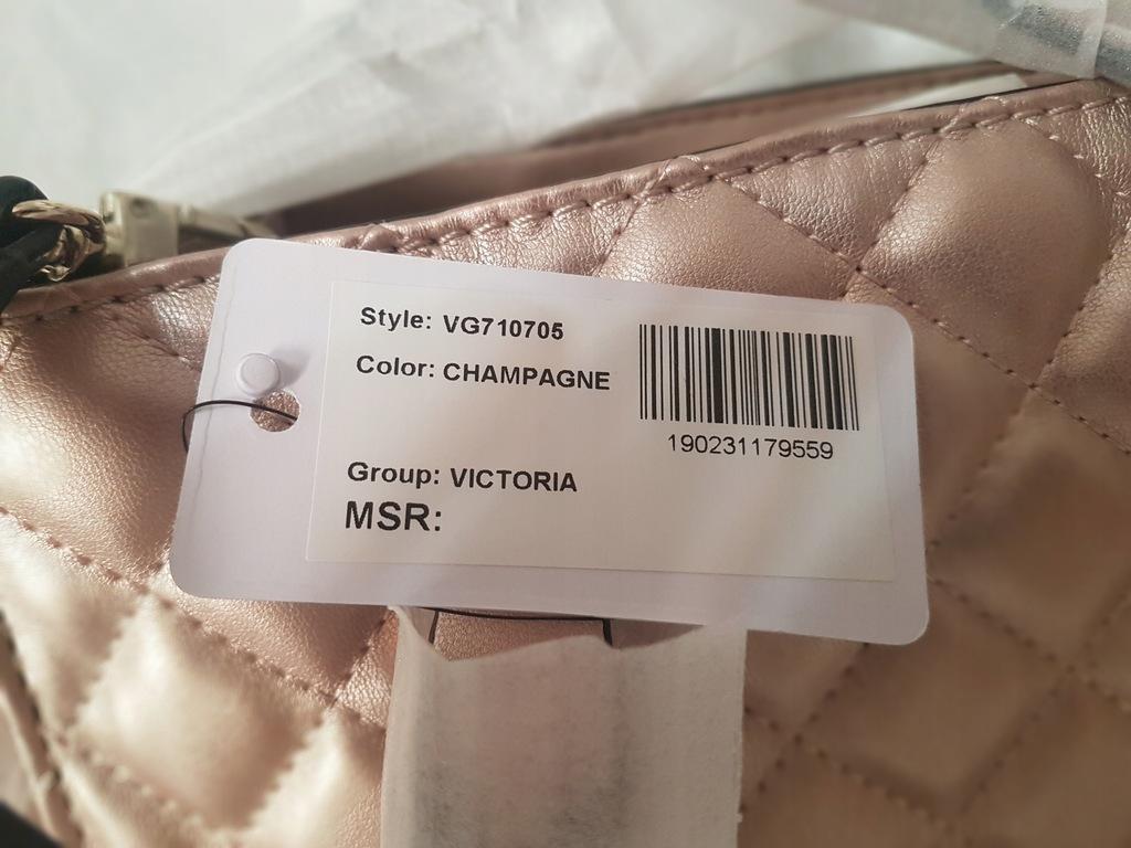 Torebka VICTORIA CHAMPAGNE GUESS
