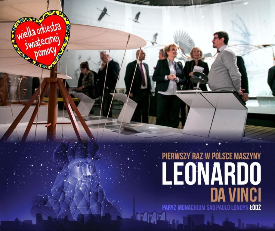 Wystawa Leonarda da Vinci z Prezydent Łodzi