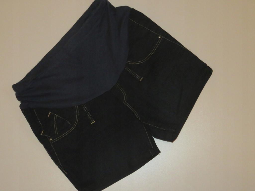 40 L Spodenki Szorty ciążowe krótkie Jeansy 2.05