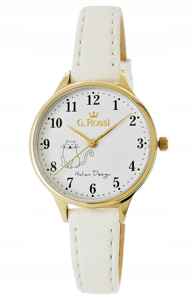 Zegarek Damski Gino Rossi 12491A-3C2-2 Kotek