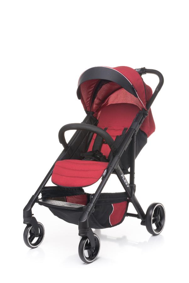 4 BABY Wózek spacerowy FLEXY RED