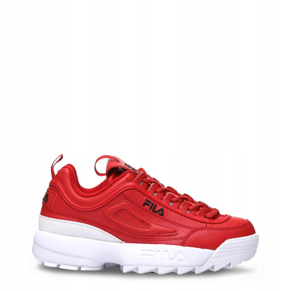 Czerwone buty Fila orginalne