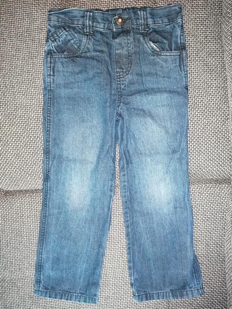 spodnie cherokee 6-7l 116-122cm stan bdb