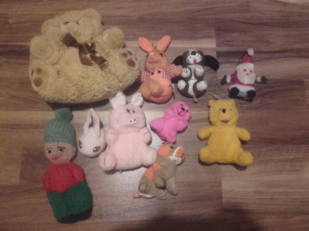 Pluszaki, zabawki, misie
