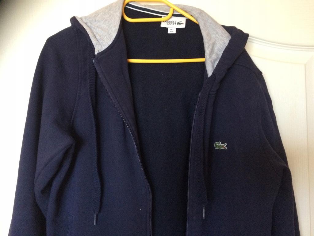 Lacoste bluza meska z kapturem L